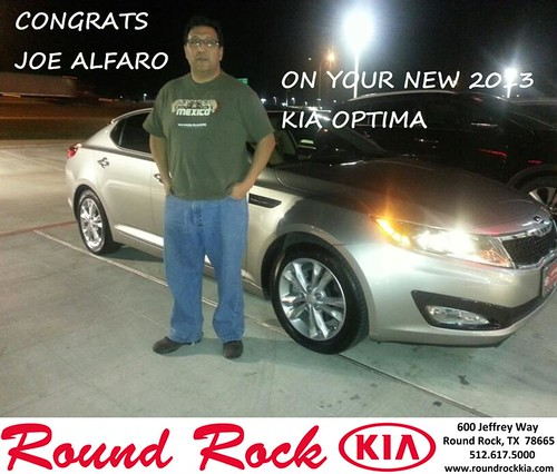 #HappyBirthday to Joe Alfaro from Fidel Martinez and everyone at Round Rock Kia! by RoundRockKia