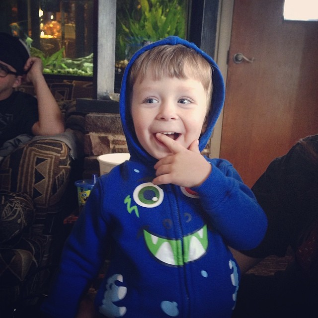 cutest nephew ever.