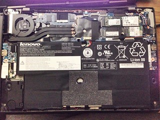 ThinkPad X1 Carbon Generation 2 internal layout
