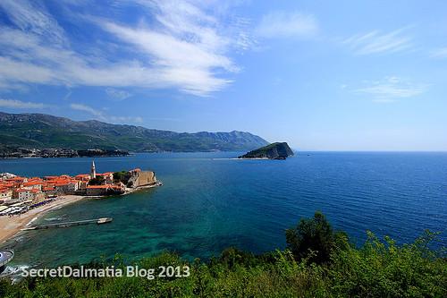 Budva and Sv Nikola Island
