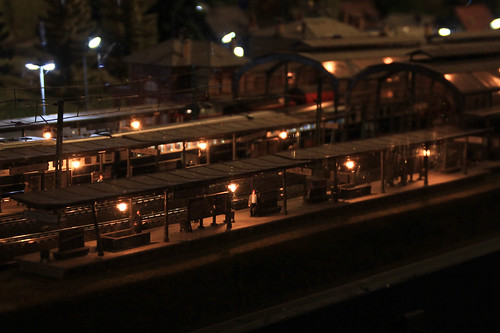 Model Train Exhibit, Jerusalem