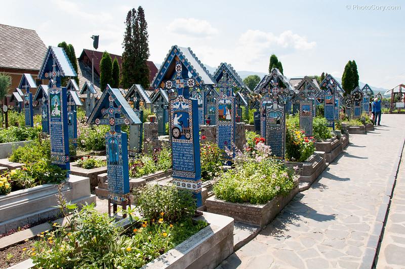 sapanta,  the merry cemetery