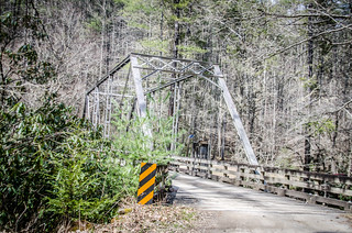Cataloochee Valley Steel Bridge