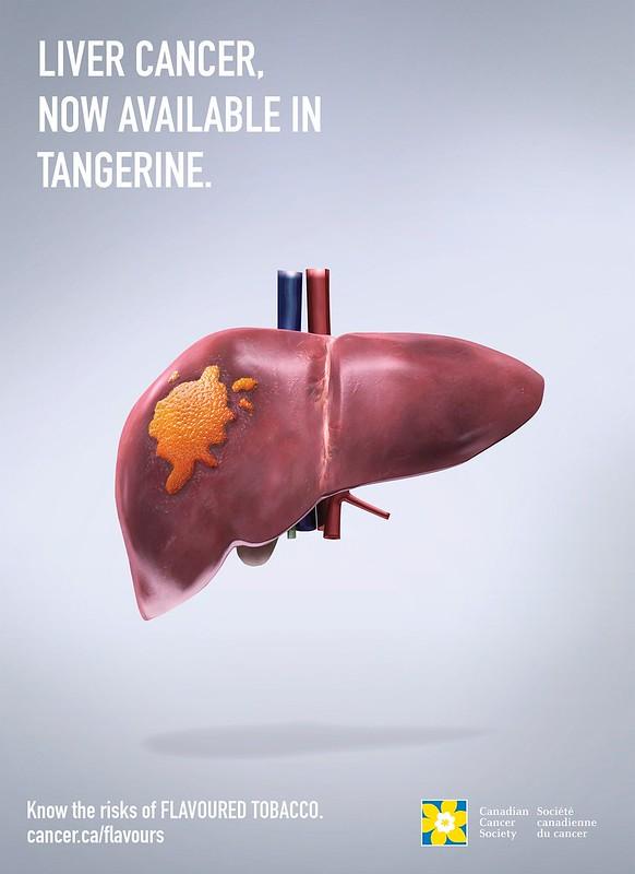 Canadian Cancer Society - Tangerine