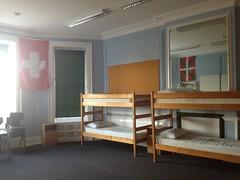 double decker beds, summer camp