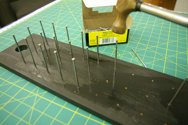 thread holder DIY