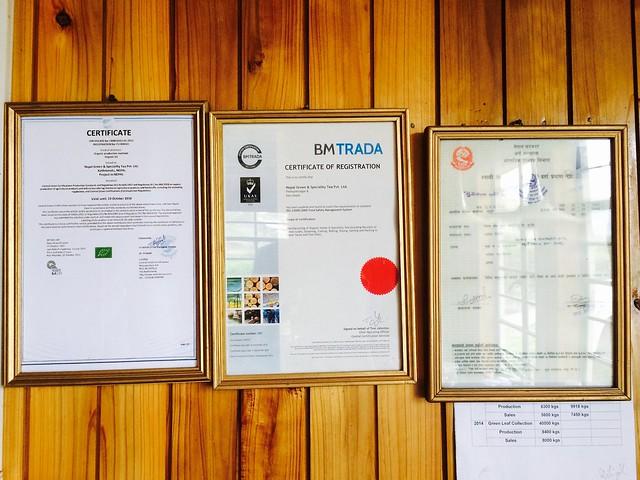 Многие фабрики имеют постоянных покупателей из Западных стран, поэтому наличие органических сертификатов обязательно