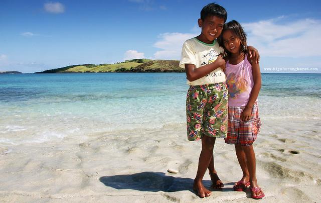 Calaguas Island local kids