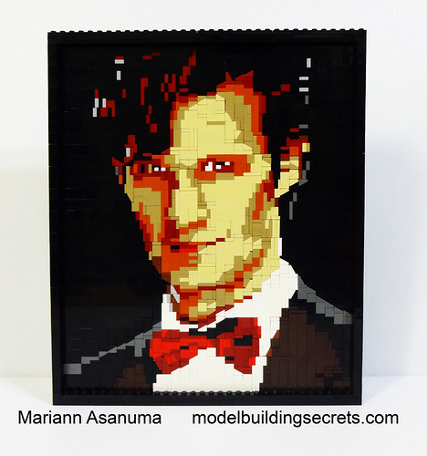 LEGO 11th Doctor Mosaic 1