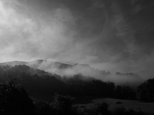 Wisps of cloud