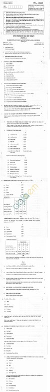 CBSE Board Exam 2013 Class XII Question Paper -Elements of Cost Accounting and Auditing