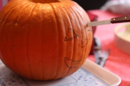Comment faire une lanterne citrouille d 39 halloween ma p 39 tite cuisine - Comment dessiner une bougie ...