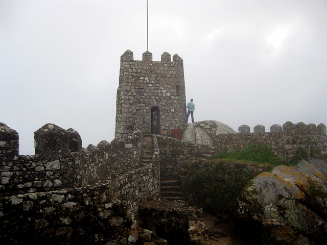 Sintra castle in Portugal