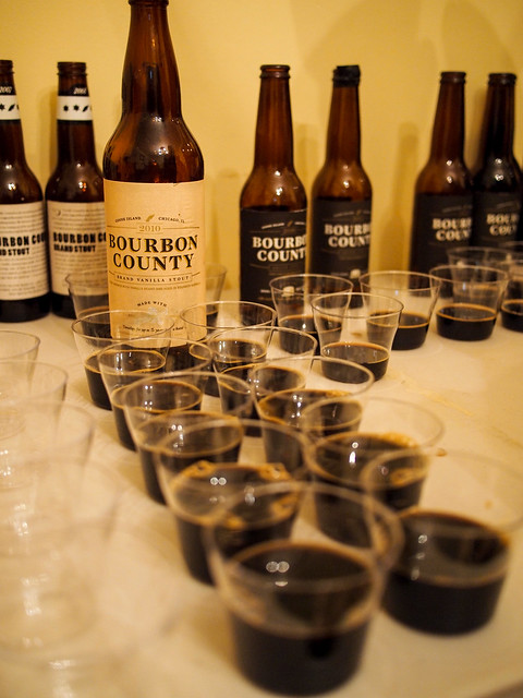 2014 Bourbon County Stout Tasting