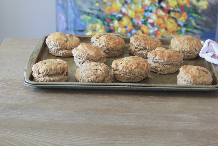 Sorghum Oat Biscuits