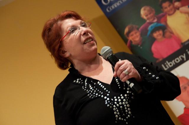 Loretta LaRoche at the Ocean County Library