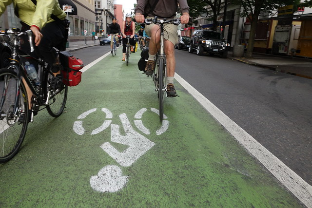 Stark Green Bike Lane