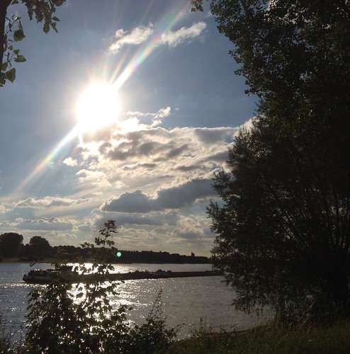 Enjoying River Rhine by Keumjoo