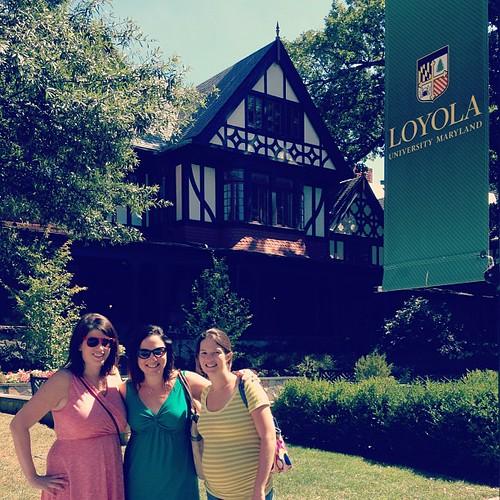 A trip down Loyola memory lane.  Charm city, I miss you.  #latergram
