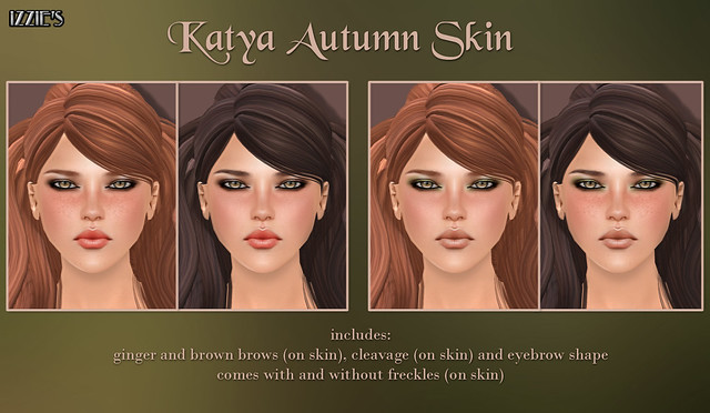 Katya Autumn Skin (The Seasons Story)
