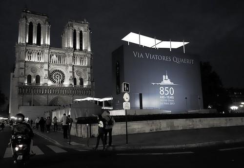Via Viatores Quaerit ~ Notre Dame de Paris ~  MjYj by MjYj