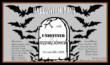 Halloween Bash 10-26-13