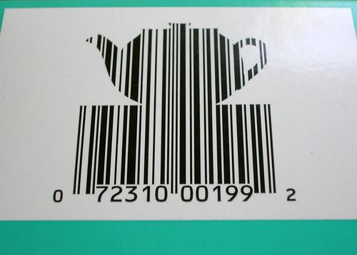 Teapot Barcode