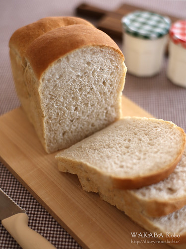 いちご酵母食パン 20160604-IMG_9311