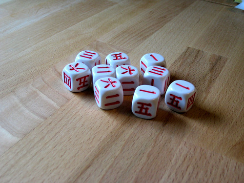 Japanese d6s by woodelph