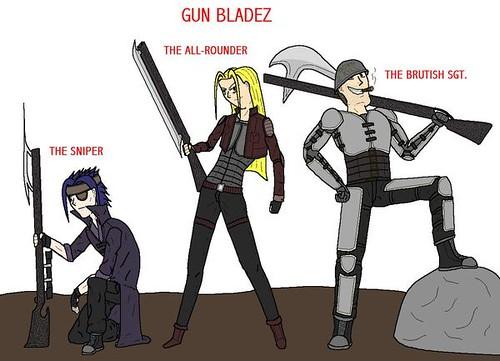 gun blades