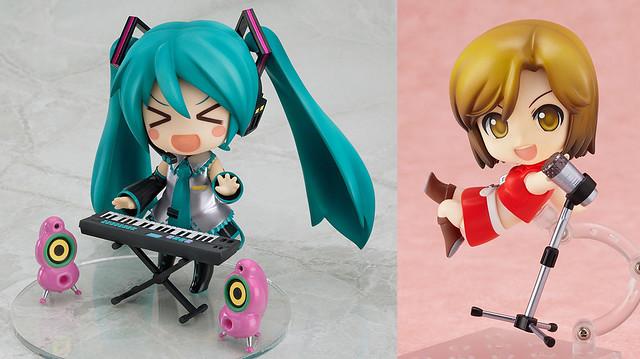 Nendoroid Hatsune Miku 2.0 and MEIKO