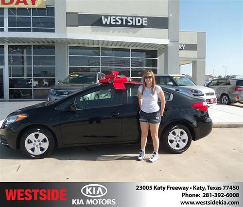 Westside KIA Houston Texas Customer Reviews and Testimonials - Samantha Messina by Westside KIA
