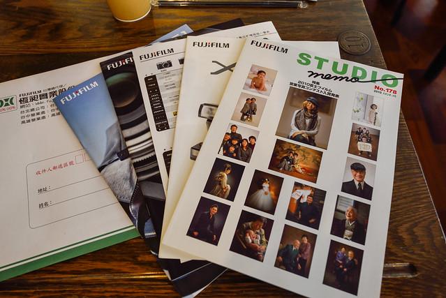 【雜誌 & DM】介紹 Fujifilm 這次主打的新機,不過只有 X-pro1, x100s, xe-1,卻沒有 Xm-1 的