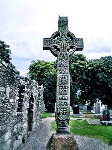 Monasterboice high cross by SpatzMe