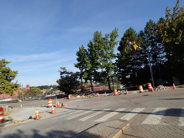 Atwells Avenue construction to slow traffic after a City Council member was struck by a car and almost killed. Of course, it didn't matter that other people were killed on Atwells prior to the incident. Thanks PVD DPW.