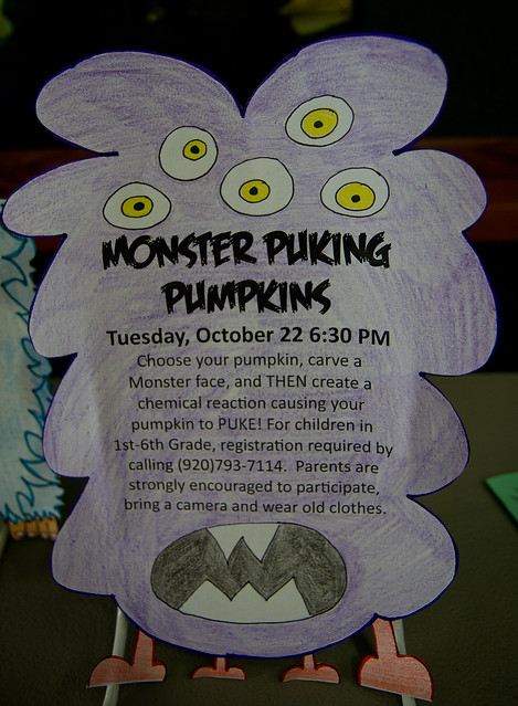 Monster Puking Pumpkins