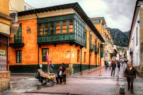 Bogota Colombia La Candelaria Is One Of My Favorite