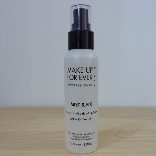 Make Up For Ever Professional Mist & Fix review