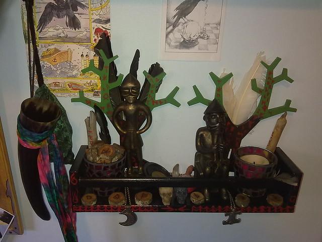 Woden and Thunor shrines