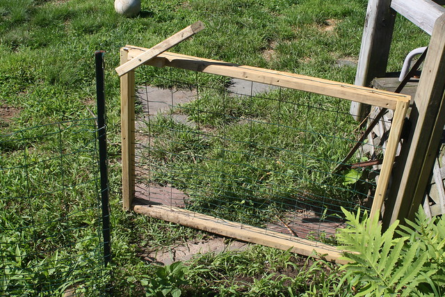 new garden gate