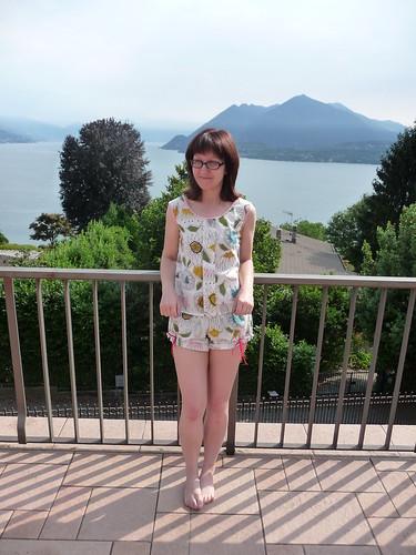 Pyjamas (Colette Sorbetto & Madeleine) in Lake Maggiore, Italy