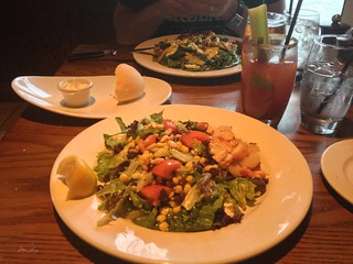 Salads at The Keg