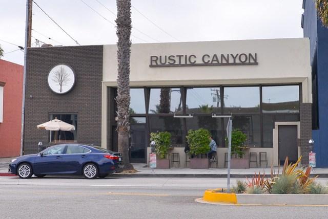rustic canyon exterior