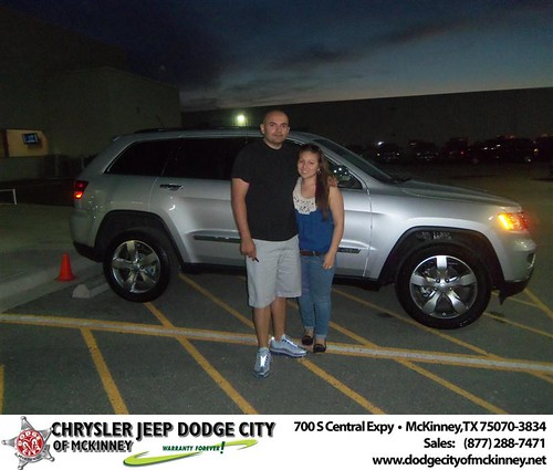 #HappyAnniversary to Manuel A Castro on your 2013 #Jeep #Grand Cherokee from Joe Ferguson  and everyone at Dodge City of McKinney! by Dodge City McKinney Texas