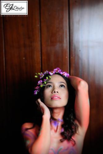 Make-up by E.J. Litiatco (Portfolio Shoot)