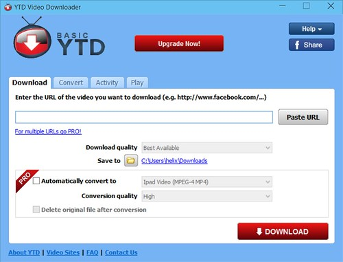 YTD Main Screen