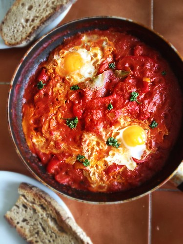 Shakshuka - fuel for cleaning day