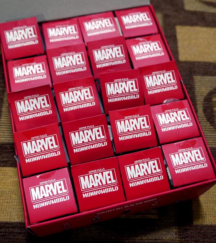 Marvel MUNNY Ziper Pulls 006
