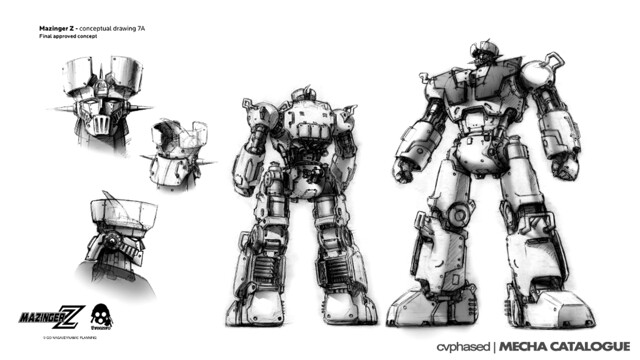 threezero Mazinger Z - Approved Concept Design