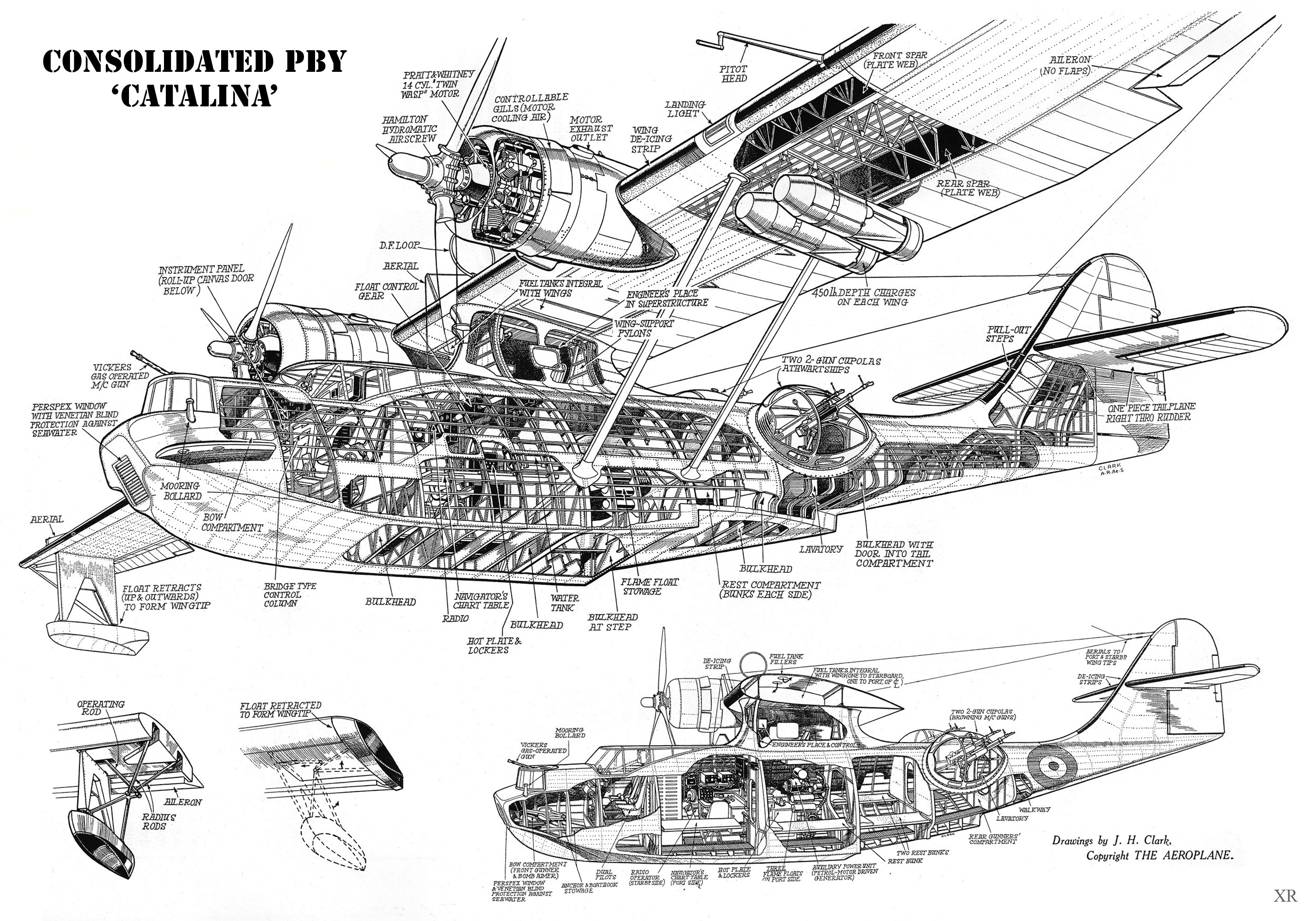 B 29 Cutaway